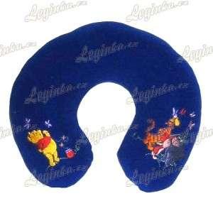 Mědvídek Pú, Opěrka hlavy dětská, modrá