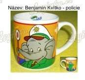 Benjamin Kvítko Policie - hrníček