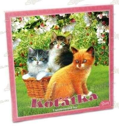 Hra Koťátka, sada 2 her