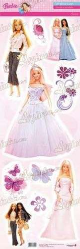 Barbie Nástěnné samolepky