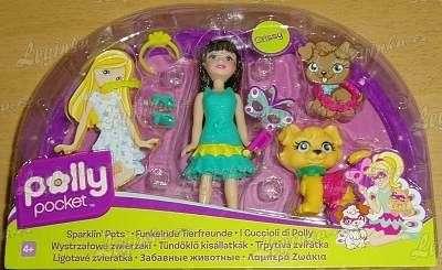 Polly Pocket, panenka Crissy se zvířátkem