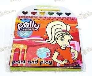 Polly Pocket Zápisník s vodovými barvami