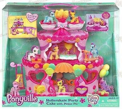 Ponyville - Domeček ve tvaru dortu
