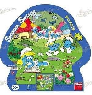 Puzzle Šmoulové letní den