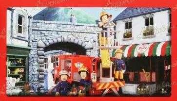 Puzzle mini Požárník Sam