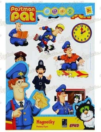 Magnetky - Postman Pat - postavy - 11 ks