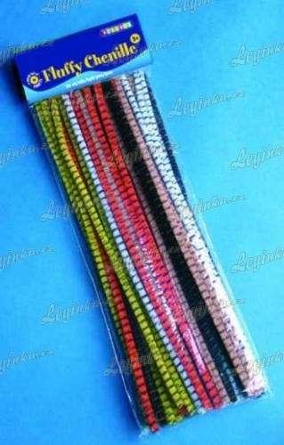 Modelovací dráty, proužkované, 50 ks, 30 cm