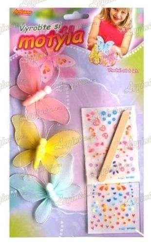 Vyrobte si motýla