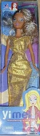 Panenka ve zlatých šatech