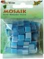 Mozaika pryskyřicová, 10x10, modrý mix