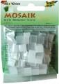 Mozaika pryskyřicová, 10x10, bílý mix
