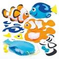 První šití, mořská ryba, oranžová, 1 ks