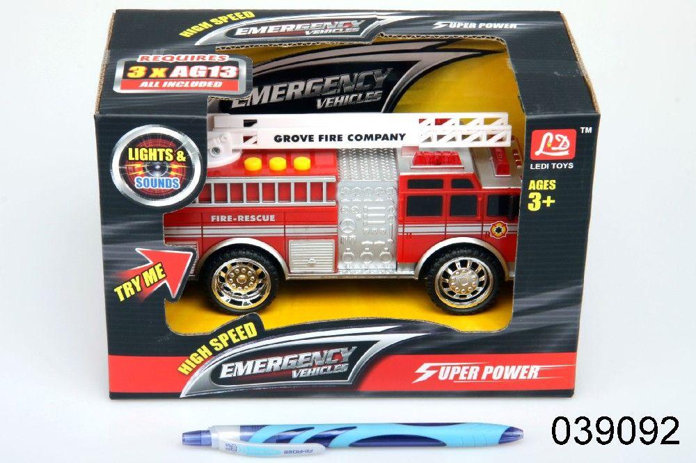 Auto, hasiči