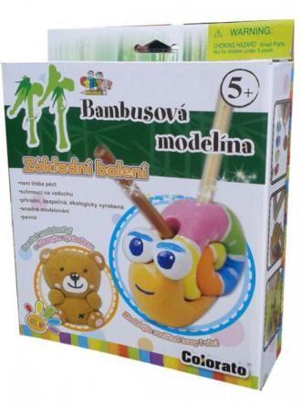 Bambusová modelína, sada