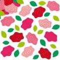 Filcové samolepky, růže