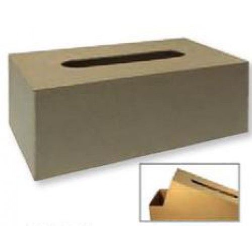 Krabička na papírové kapesníky, polotovar