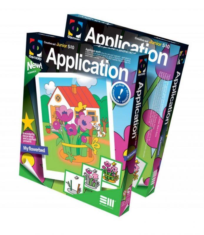 Kreativní sada, aplikace, květiny