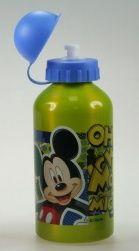 Láhev na pití, Mickey zelená, kovová