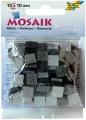 Mozaika pryskyřicová, 10x10,  třpytivá šedá