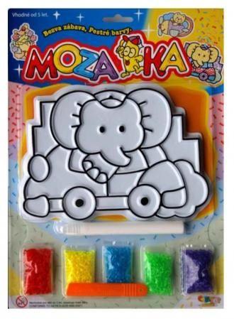 Mozaika, sypací