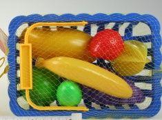 Ovoce v košíku, modrý