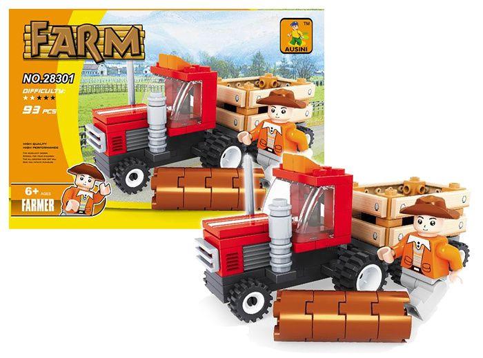Stavebnice farma, traktor