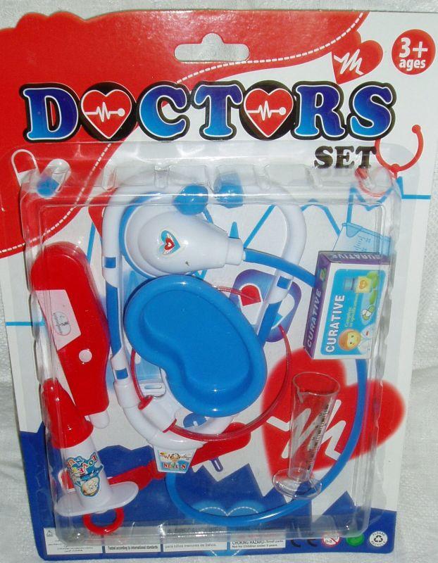 Doktorská sada na kartě