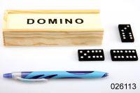 Domino klasikv dřevěné krabičce