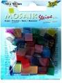 Mozaika pryskyřicová ledová, 10x10 mm, mix barev