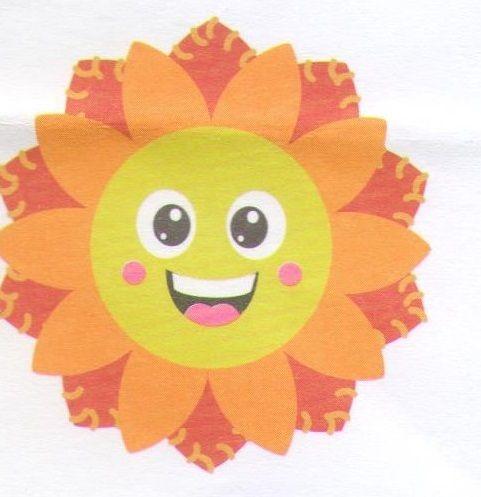 První šití, slunečnice, 1 ks