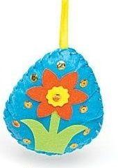 První šití, velikonoční vajíčko, 1 ks, modré